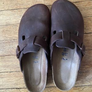 Birkenstocks Soft Footbed Boston Clog